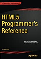 HTML5 Programmer's Reference