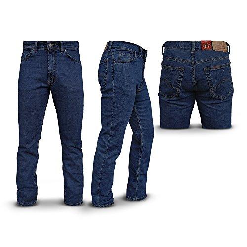 Jeans Uomo CARRERA Elasticizzato 5 Tasche Taglie 46 - 62 Art.700 / 921A ( Blu Chiaro - 50)