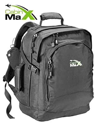 Cabin Max Laptop Backpack - water resistant with padded laptop section. Up to 15.6 inch Notebook by Cabin Max