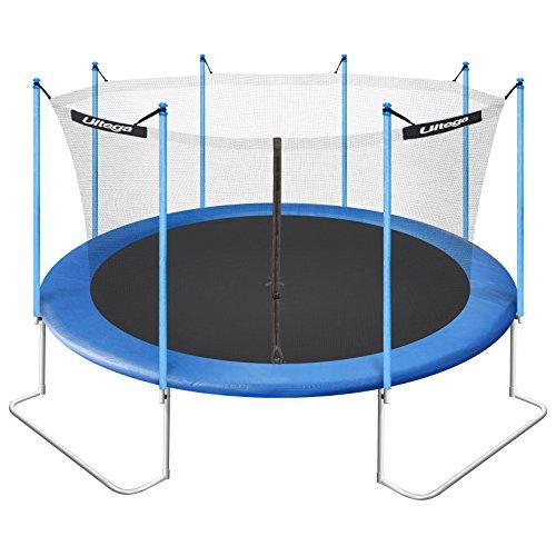 Ultega 14-Foot Jumper Trampoline With Safety Net