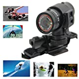 Mini Stick F9 HD 1080P Waterproof 120FOV DVR Helmet Action Cam Camera Multifunction Sports DV for Tr Amazon