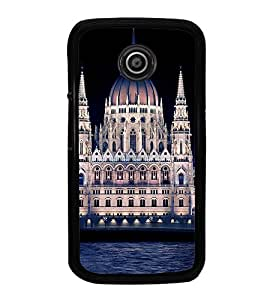 iFasho Victoria palace Back Case Cover for Moto E