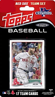 2014 Topps Boston Red Sox Factory Sealed Limited Edition 17 Card Team Set