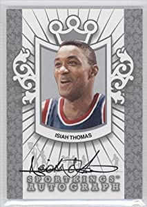 Isiah Thomas Detroit Pistons (Trading Card) 2012 Sportkings Series E Autograph Silver... by Sportkings Series E