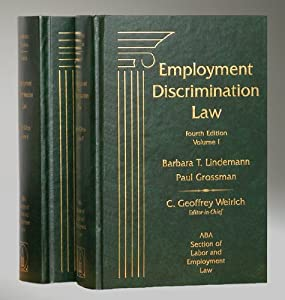 Employment Discrimination Law, 4th Edition, 2010 Cumulative Supplement ABA Section of Labor and Employment Law