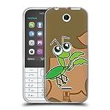 Head Case Designs カマキリ バグズ・アイズ ソフトジェルケース Nokia 225