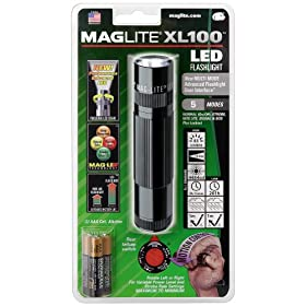 MAGLITE XL100 LED Flashlight, Black