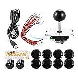 XCSOURCE Zero Delay Arcade Game USB Encoder PC Joystick DIY Kit for Mame Jamma & Other PC Fighting Games AC426