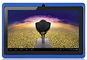 """Aome Tech Blue 7"""" inch Touch Screen Dual core Allwinner A23 1.5GHz CPU Android 4.2.2 Tablet PC Dual camera 4GB HDD 512MB WiFi"""