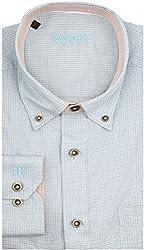 Raymond Men's Casual Shirt  (8907249265691_RCSX00606-B5_39_Medium Blue)