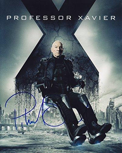 X-MEN フューチャー&パスト 直筆サイン入写真 (パトリック・スチュワート)