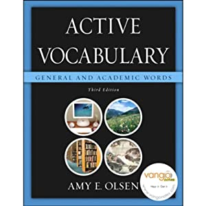 VangoNotes for Active Vocabulary: General & Academic Words, 3/e | [Amy E. Olsen]
