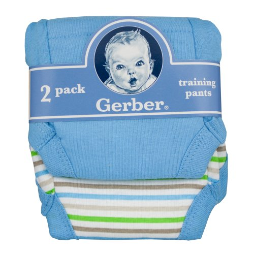 Gerber Training Pants (2 Pack) (2T Boys)