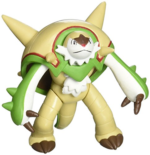 "Takaratomy Official Pokemon X and Y SP 07 2.5"" Chesnaught Action Figure"