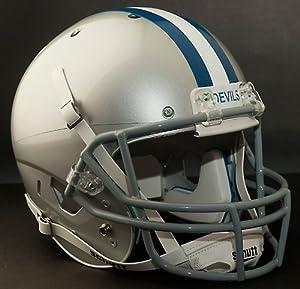 DUKE BLUE DEVILS 1971-1977 Schutt AiR XP Authentic GAMEDAY Football Helmet by ON-FIELD