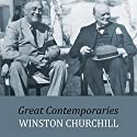 Great Contemporaries (       UNABRIDGED) by Winston Churchill Narrated by Ric Jerrom