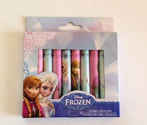 Disney Frozen Jumbo Crayons - 10 count
