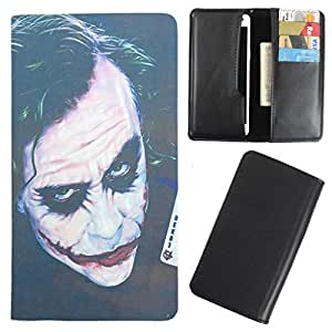 DooDa - For Karbonn A9+ PU Leather Designer Fashionable Fancy Case Cover Pouch With Card & Cash Slots & Smooth Inner Velvet