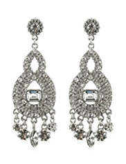 Limited Edition Diamanté Drop Earrings