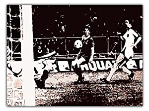 Kenny Dalglish Liverpool Fc 1978 European Cup Final Fridge Magnet from Austerity Art