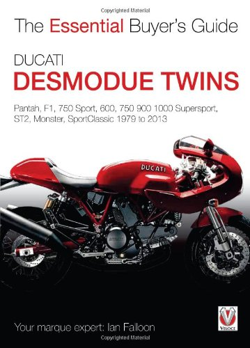 Sale alerts for Veloce Publishing Ducati Desmodue Twins: Pantah, F1, 750 Sport, 600, 750 900 1000 Supersport, ST2, Monster, SportClassic 1979 to 2013 - Covvet
