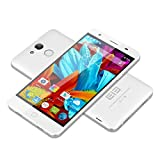 "Elephone P7000 - Smartphone 4G Android 5.0 (16GB, Procesador Octa Core MTK6752 de 64Bit y 1.7GHz, Pantalla Full HD 5,5"", 3GB RAM, Cámara Trasera de 13MP, Cámara Frontal de 5MP) - Color Blanco"