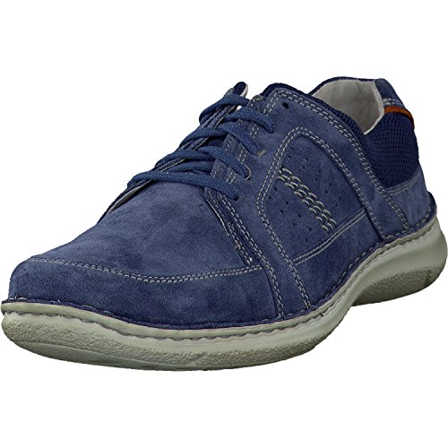 Josef Seibel 43493 Anvers 41Scarpe stringate, Uomo, schuhgröße_1:42 EU;Farbe:Blau