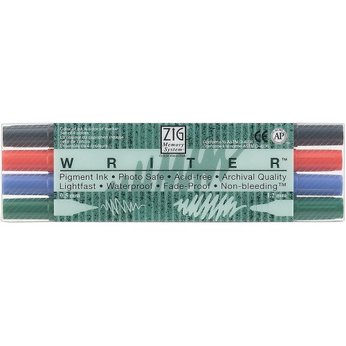 Zig Memory System Writer Dual Tip Markers