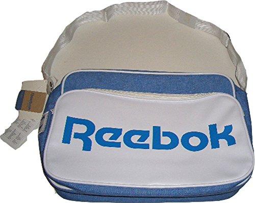 Reebok Classic Royal Borsa A Tracolla, Colore Bianco-Blu, 37 Cm X 27 Cm X 15 Cm