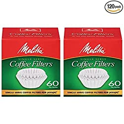 Melitta Java Jig, Single Serve Paper Coffee Filters made by Melitta