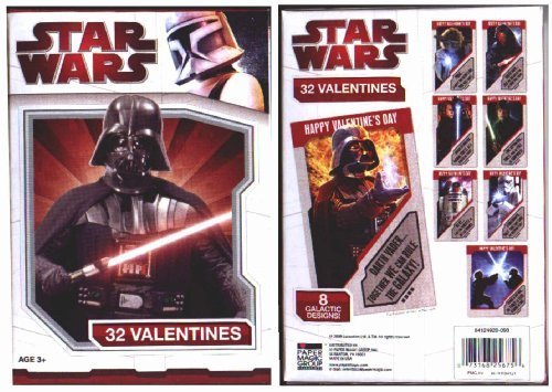 Star Wars 32 Valentines - 1
