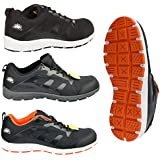 Mens Groundwork Steel Toe cap Safety Lace Work Lightweight Trainers,Steel toe,safety trainers
