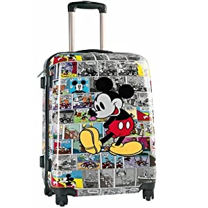 Mickey Valise trolley 4 roues BD 50cm: Bagages