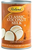 Roland Classic Coconut Milk, 14-Ounce (Pack of 24)