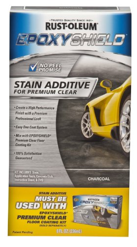 Rust-Oleum Corporation 263999 Stain Additive for Premium Clear Kit, Charcoal