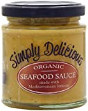 Simply Delicious Organic Seafood Sauce 180 g (Pack of 6)