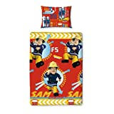 Fireman Sam Alarm Rotary Duvet Cover Set - Single