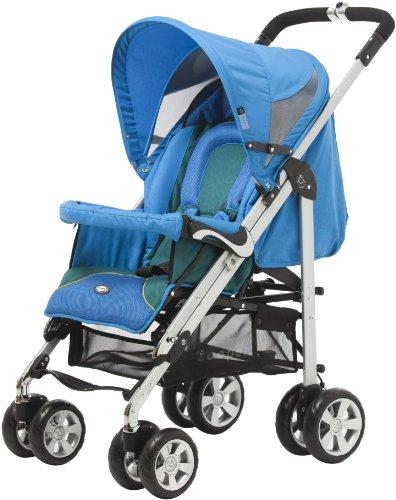 Zooper 2011 Bolero Stroller/Bassinet, Ocean Blue front-455420