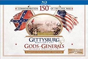 Gettysburg / Gods and Generals (Limited Collector's Edition) [Blu-ray]