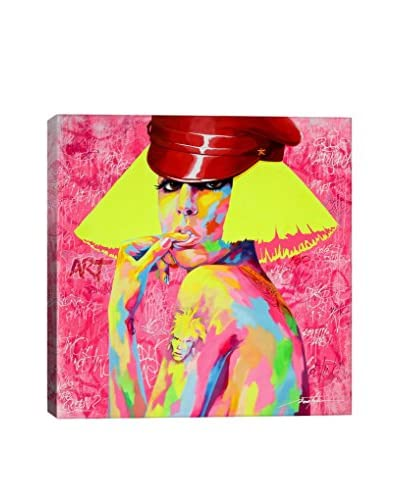 Noe Two Lady Gaga Gallery Wrapped Canvas Print