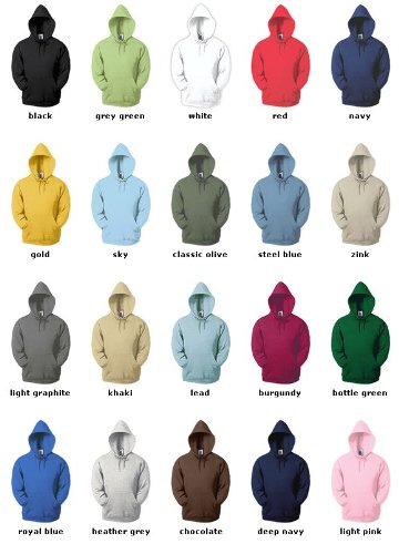 Kapuzen-Sweatshirt - Fruit of the Loom 'Hooded Sweat',
