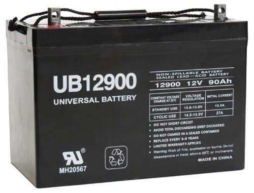 Universal Power Group 45826 Sealed Lead Acid Battery