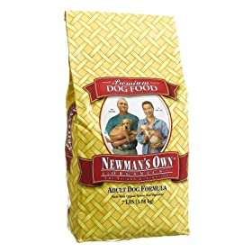 Newman's Own®Organics Adult Dog Food Chicken & Rice Formula, 7-Pound Bag