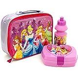 Disney Princess Deluxe 3 Piece Lunchbag Set