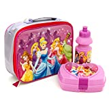 Disney Princess Deluxe 3 Piece Lunchbag Set