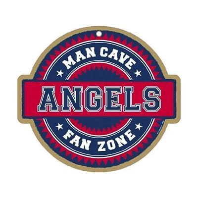 MLB Man Cave Fan Zone Wood Sign