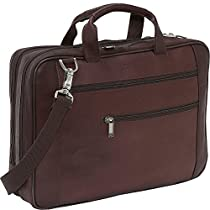 Kenneth Cole Reaction Luggage Double Play Brief, Dark Brown, Medium