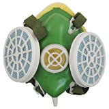 Green White Anti Dust Protective Face Mask Respirator w Stretch Strap