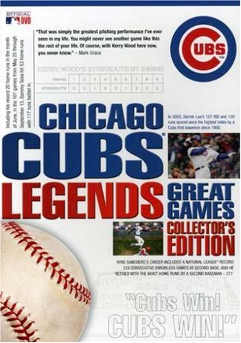 Chicago Cubs Legends - Great Games Collector's Edition at Amazon.com