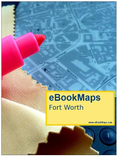 Map of Fort Worth, TX, USA (Maps of USA)